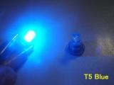 LED palubní deska Neo Wedge T5 modrá
