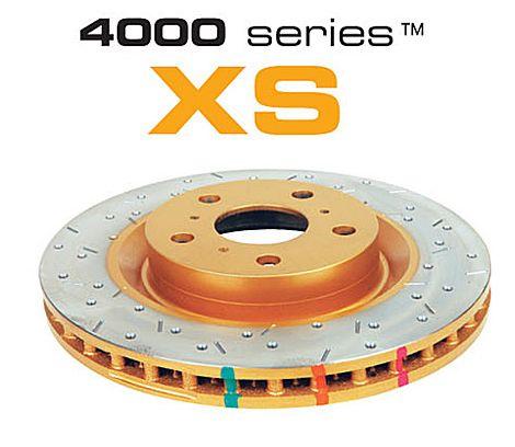 Brzdové kotouče DBA na Acura CX všechny typy mimo Type-R (90-01) - přední DBA4474XS