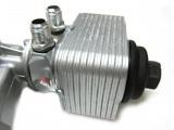 Adaptér pro montáž olejového chladiče na olejový výměník HPP Škoda / VW / Audi / Seat 1.9TDI PD - D-08 (AN8)