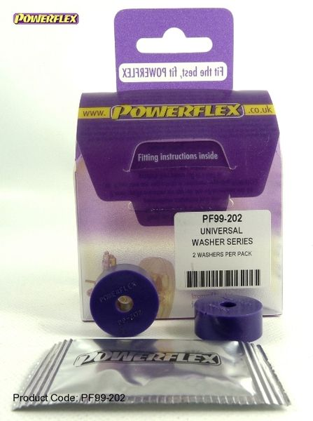 Powerflex univérzální silentblok 200 Series Washer Bush - 25 x 6 x 10mm