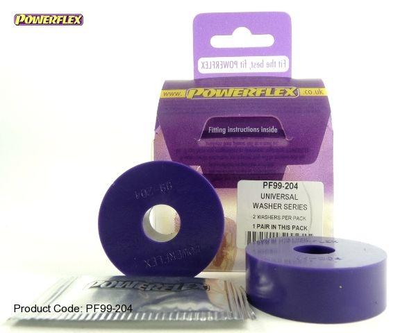 Powerflex univérzální silentblok 200 Series Washer Bush - 50 x 15 x 17mm