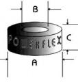 Powerflex univérzální silentblok 200 Series Washer Bush - 50 x 15 x 32mm