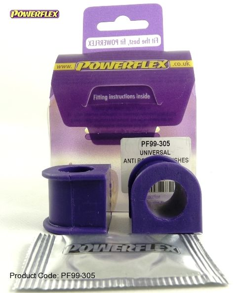 Powerflex univérzální silentblok 300 Series Anti Roll Bar Bush - 32 x 18mm