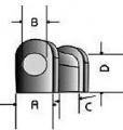 Powerflex univérzální silentblok 300 Series Anti Roll Bar Bush - 32 x 20mm