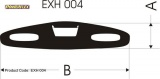 Silentblok výfuku Powerflex 30 x 105mm