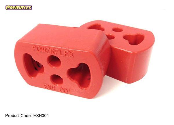 Silentblok výfuku Powerflex 68 x 44mm