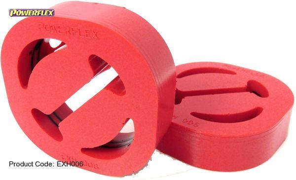 Silentblok výfuku Powerflex 70 x 70mm