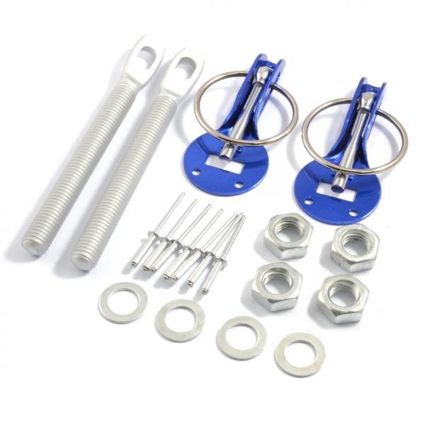 ProRacing Zámky / držáky kapoty hliníkové - modré