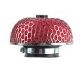 Sportovní filtr univerzální houba 76mm červený