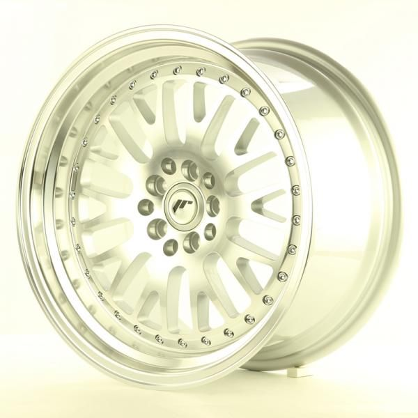 Alu kolo Japan Racing JR10 17x9 ET30 5x108/112 Machined Silver