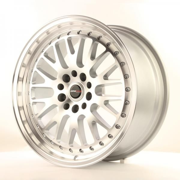 Alu kolo Japan Racing JR10 18x8,5 ET40 5x108/114 Machined Silver