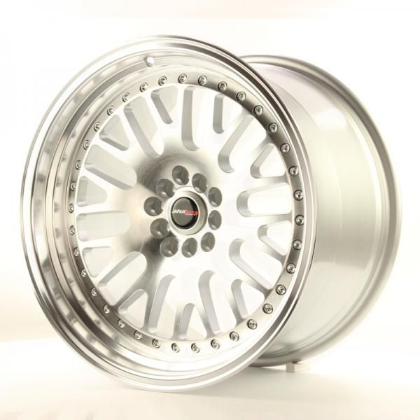 Alu kolo Japan Racing JR10 18x9,5 ET40 5x108/114 Machined Silver