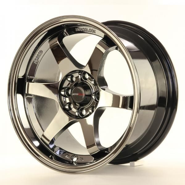 JAPAN RACING Alu kolo Japan Racing JR3 15x8 ET25 4x100/108 Black Chrome