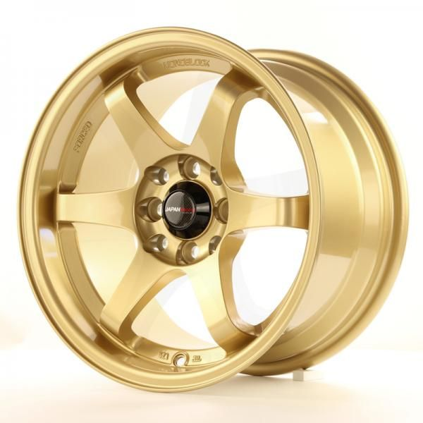 JAPAN RACING Alu kolo Japan Racing JR3 15x8 ET25 4x100/108 Gold