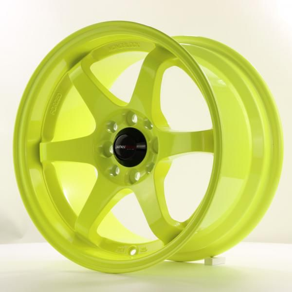 JAPAN RACING Alu kolo Japan Racing JR3 15x8 ET25 4x100/108 Lime