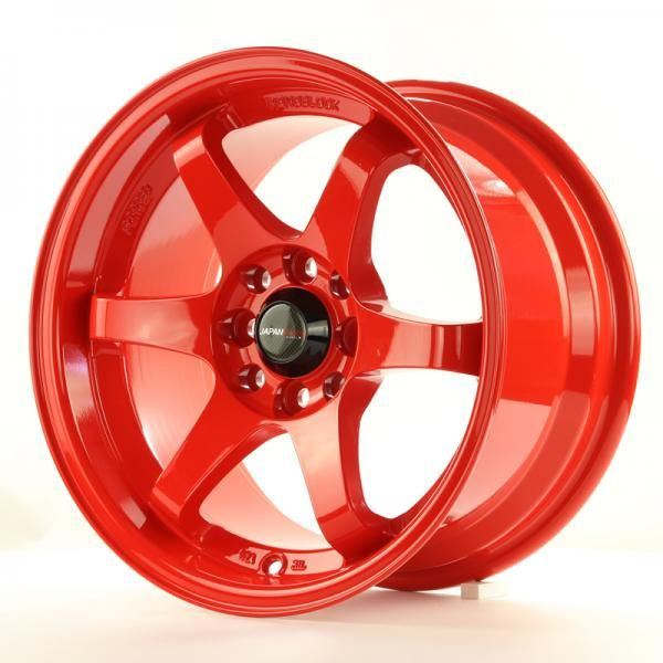 JAPAN RACING Alu kolo Japan Racing JR3 15x8 ET25 4x100/108 Red