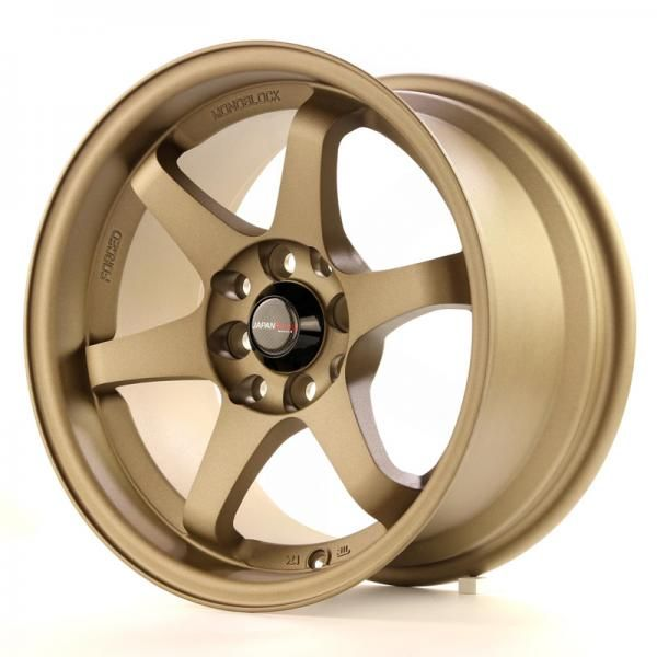 JAPAN RACING Alu kolo Japan Racing JR3 15x8 ET25 4x100/114 Anodiz Bronze