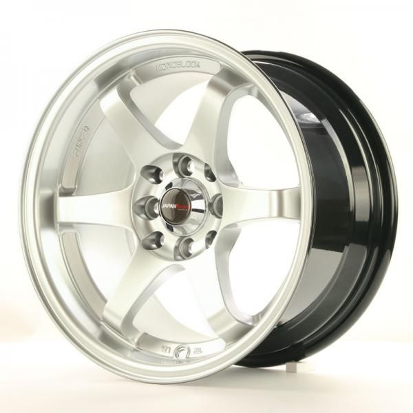 JAPAN RACING Alu kolo Japan Racing JR3 15x8 ET25 4x100/114 Hyper Silver