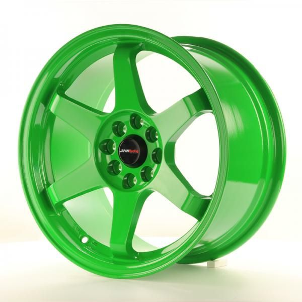 JAPAN RACING Alu kolo Japan Racing JR3 16x8 ET25 4x100/108 Green