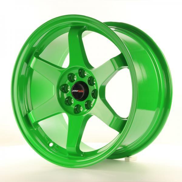 Alu kolo Japan Racing JR3 16x8 ET25 4x100/108 Green