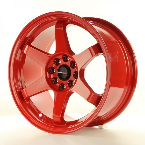 Alu kolo Japan Racing JR3 16x8 ET25 4x100/108 Red
