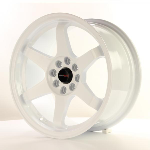 Alu kolo Japan Racing JR3 16x8 ET25 4x100/108 White