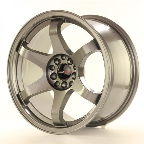 JAPAN RACING Alu kolo Japan Racing JR3 17x9 ET25 4x108/114,3 Gun Metal