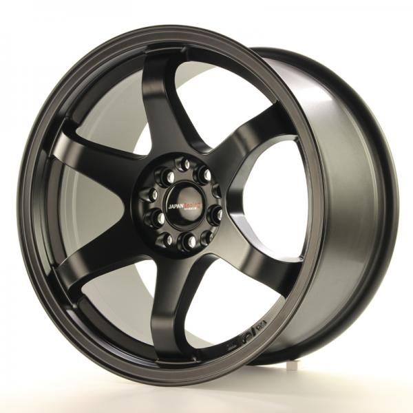 JAPAN RACING Alu kolo Japan Racing JR3 17x9 ET25 4x108/114 Matt Black