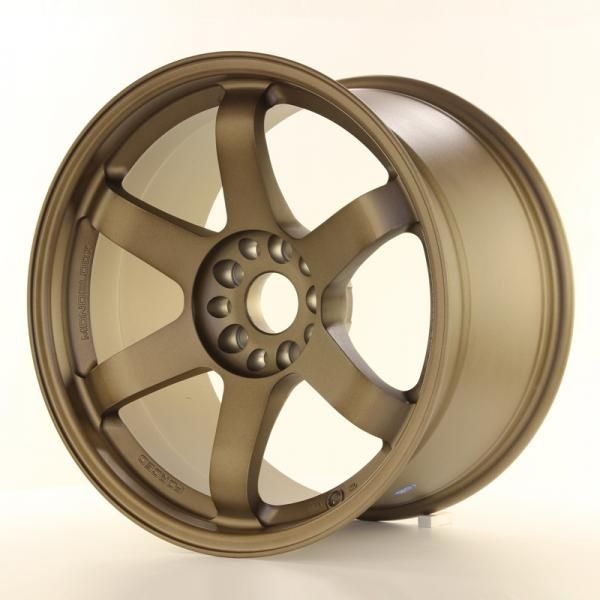 Alu kolo Japan Racing JR3 18x10,5 ET15 5x114,3/120 Dark Anodized Bronze