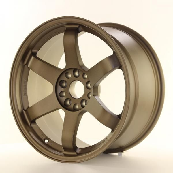 Alu kolo Japan Racing JR3 18x9,5 ET15 5x114,3/120 Dark Anodized Bronze