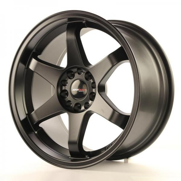 JAPAN RACING Alu kolo Japan Racing JR3 18x9 ET20 4x108/114 Matt Black