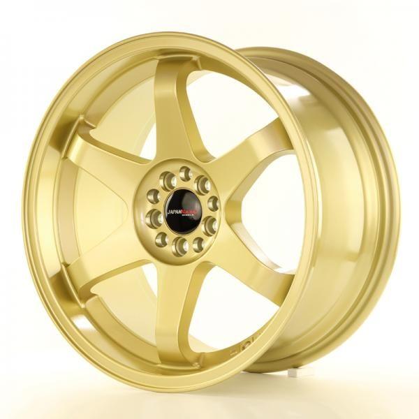 Alu kolo Japan Racing JR3 18x9 ET40 5x112/114 Gold