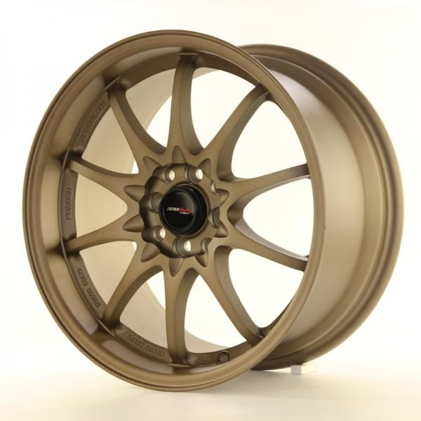 Alu kolo Japan Racing JR5 18x10,5 ET12 5x114,3 Dark Anodized Bronze