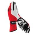 Závodní rukavice Sparco Force RG-5 - červené