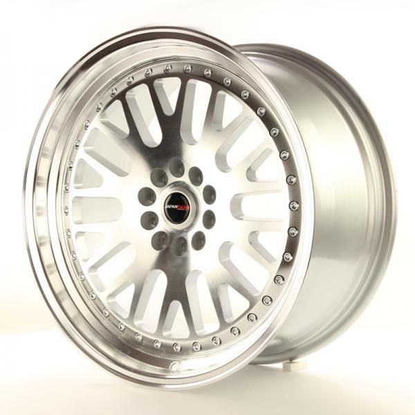 Alu kolo Japan Racing JR10 19x8,5 ET22 5x114,3/120 Machined Silver