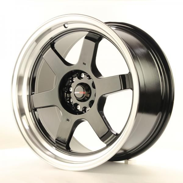 Alu kolo Japan Racing JR12 18x9 ET30 5x100/120 Gloss Black