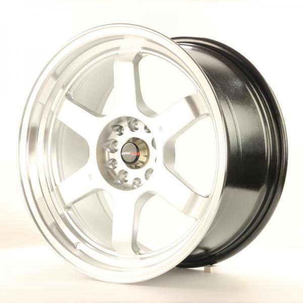 Alu kolo Japan Racing JR12 18x9 ET30 5x100/120 Hiper Silver