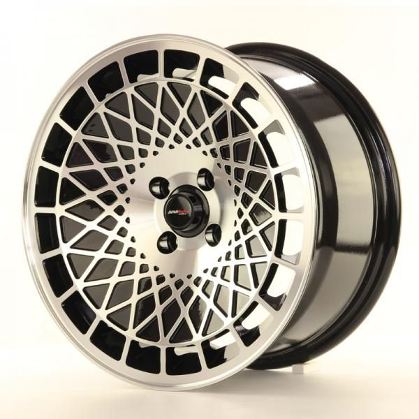 Alu kolo Japan Racing JR14 17x8,5 ET15 5x114,3 Black Machined