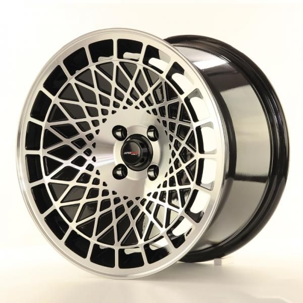 Alu kolo Japan Racing JR14 18x9,5 ET40 5x114,3 Black Machined