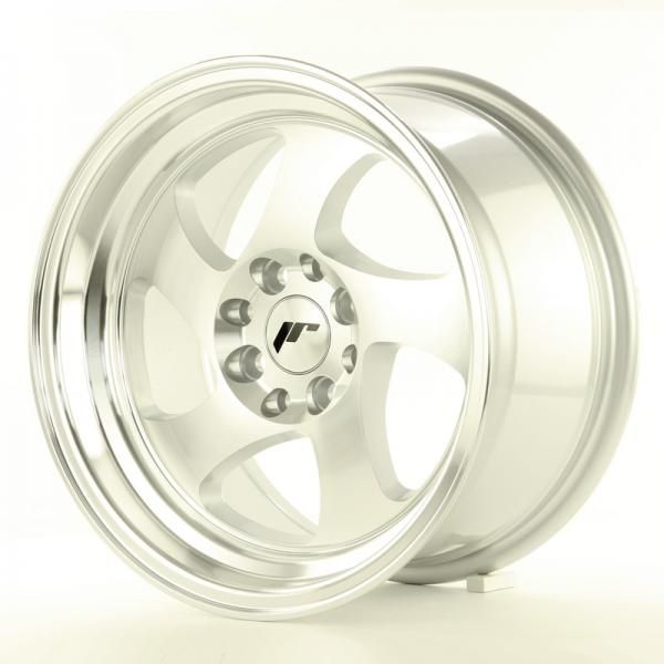 Alu kolo Japan Racing JR15 17x8 ET35 5x108/112 Machined Silver