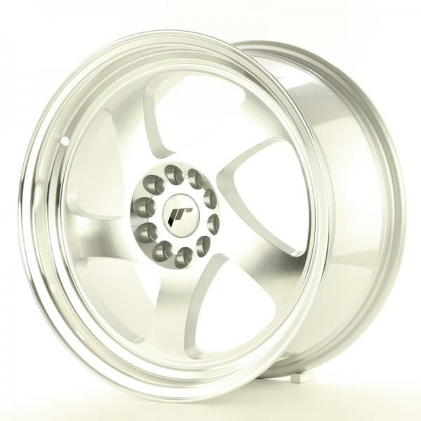 Alu kolo Japan Racing JR15 17x9 ET25 5x108/112 Machined Silver