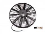 Vysoce výkonný ventilátor Spal - tlačný, průměr 385mm, 24V