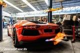 Downpipes s náhradami katalyzátorů Innotech (IPE) na Lamborghini Aventador LP 700-4 / 720-4 6.5 V12 (11-15) - titanové