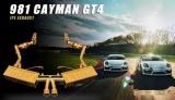 Kompletní výfukový systém se sportovními katalyzátory a svody Innotech (IPE) na Porsche 981 Boxster/Cayman (12-16) - titanový