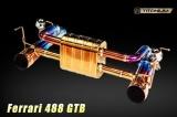 Zadní tlumič výfuku Innotech (IPE) na Ferrari 488 GTB (15-) - Evolution Edition - titanový