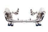 Kompletní výfukový systém s náhradami katalyzátorů a svody Innotech (IPE) na Porsche 997.2 Carrera / S / 4S (09-12)