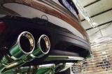 Kompletní výfukový systém se sportovními katalyzátory Innotech (IPE) na Porsche 958 Cayenne 3.0 Turbo (11-17)
