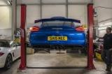 Kompletní výfukový systém se sportovními katalyzátory a svody Innotech (IPE) na Porsche 981 Boxster Cayman GT4 / Boxster Spyder 3.8 (15-16)