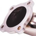 Downpipe s náhradou katalyzátoru (decat pipe) Jap Parts Ford Fiesta 1.0 Ecoboost Zetec S (11-15)