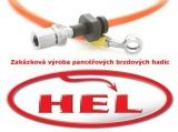 !Brzdové hadice Hel Performance zakázkové - 6 kusů